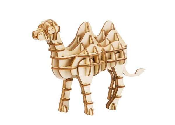 Puinen 3D palapeli KAMELI