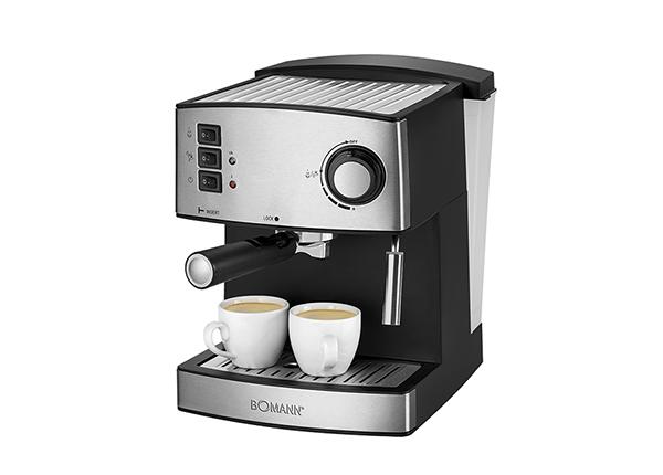 Espressomasin Bomann