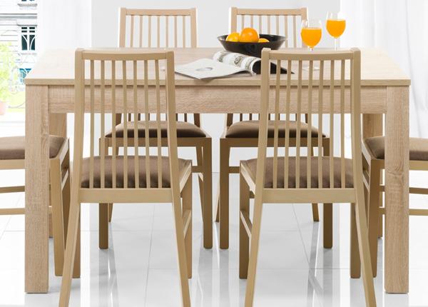 Jatkettava ruokapöytä 90x136-210 cm TF-126512