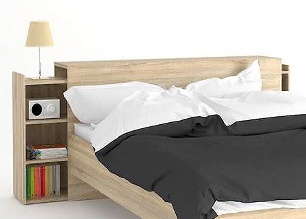 Sängyn päätyhyllyt NAIA sänkyyn 140 cm