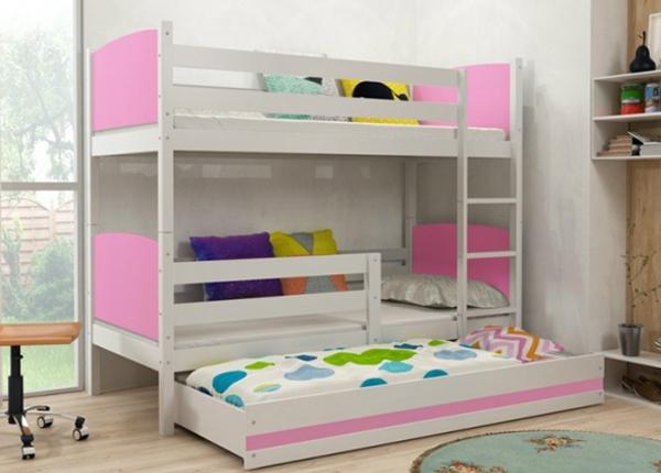 Lasten sänkyryhmä 3-le 80x160 cm