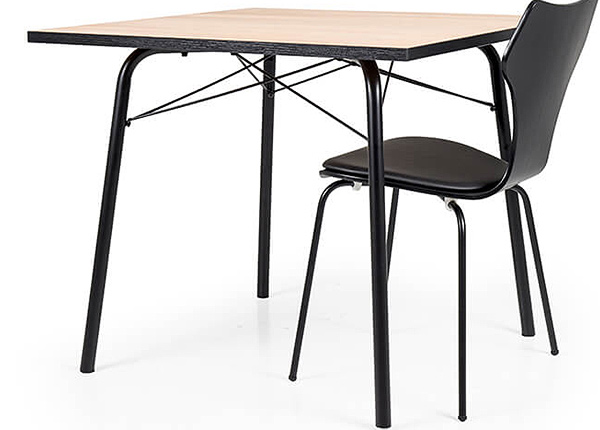 Ruokapöytä FLOW 90x90 cm AQ-126732