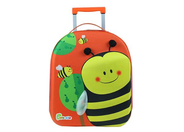 Lasten vedettävä matkalaukku MEHILÄINEN