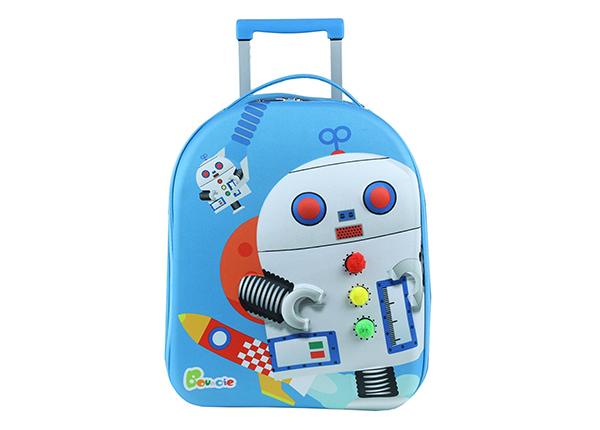 Lasten vedettävä matkalaukku ROBOT