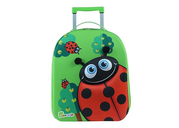 Lasten vedettävä matkalaukku LEPPÄKERTTU