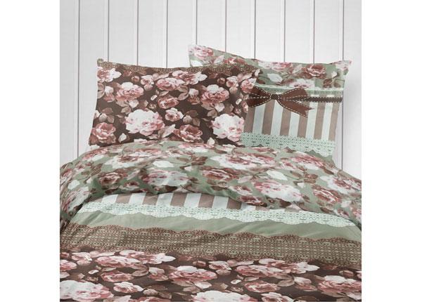 Puuvillasatiinist voodipesukomplekt 240x210 cm