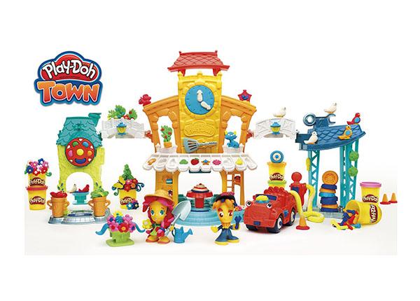 Voolimiskomplekt Play-Doh Kesklinn 3in1