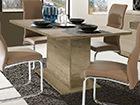 Jatkettava ruokapöytä 160-200x90 cm