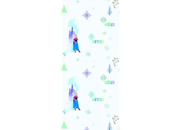 Fleece-tapetti FROZEN: ELZA AND ANNA, BLUE 53x1000 cm