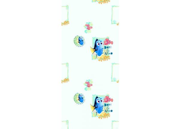 Fleece-tapetti DORY AND NEMO, LIGHT BLUE 53x1000 cm