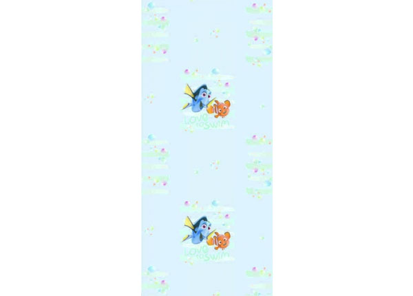 Флизелиновые обои Dory and Nemo Love to Swim, Light Blue 53x1000 cm