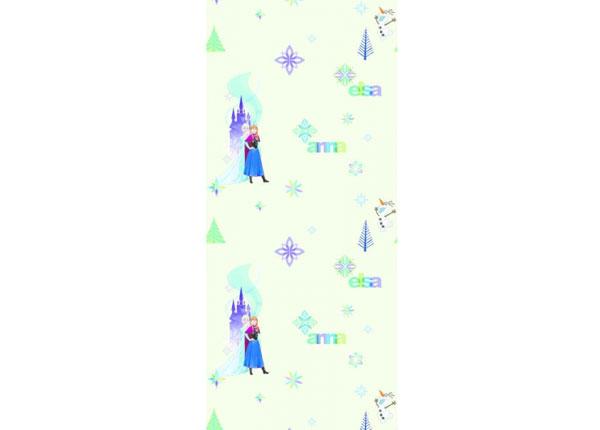 Fleecetapetti FROZEN: ELZA AND ANNA, BEIGE 53x1000 cm