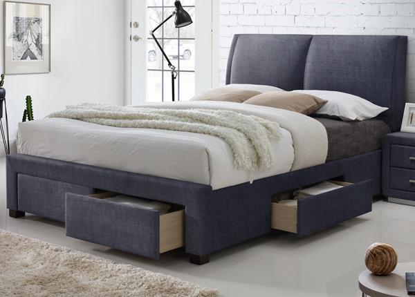 Sänky vuodevaatelaatikolla 160x200 cm RA-128079