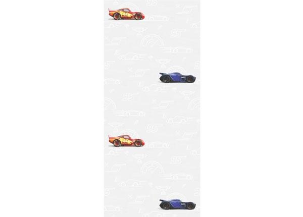 Флизелиновые обои Cars 3 Silhouette, White 53x1000 cm ED-128081