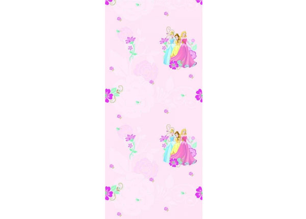 Fleecetapetti MULTIPRINCESS, PINK 53x1000 cm