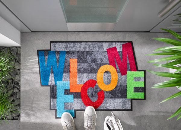 Ковер Crazy Welcome 60x85 cm