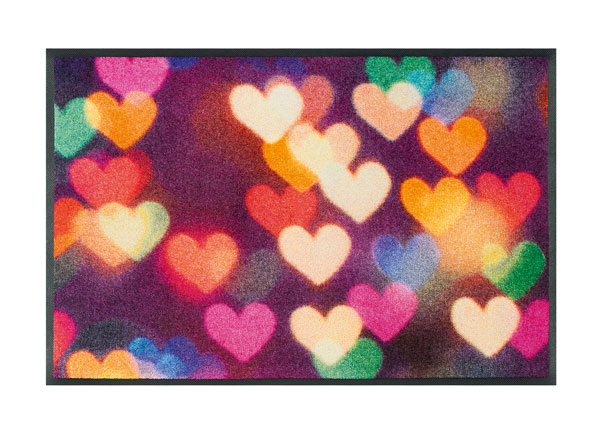 Matto CITY HEARTS 50x75 cm A5-128235