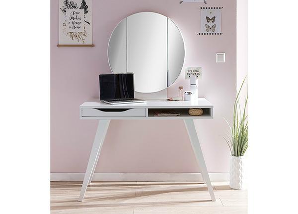 Kampauspöytä peilillä DRESSERTABLE