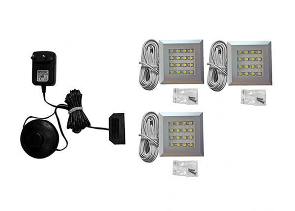 LED valaistus 3 kpl