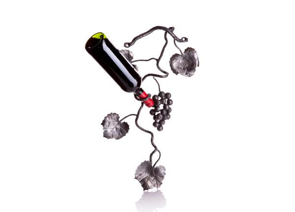Sepistatud viinamarjaväät veinipudelihoidja