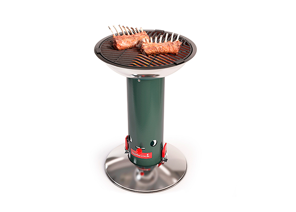 Hiiligrilli BARBECOOK LARGO GREEN
