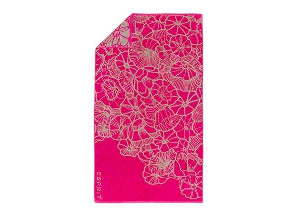Rantapyyhe ESPIRIT MAYLA PINK 100x180 cm