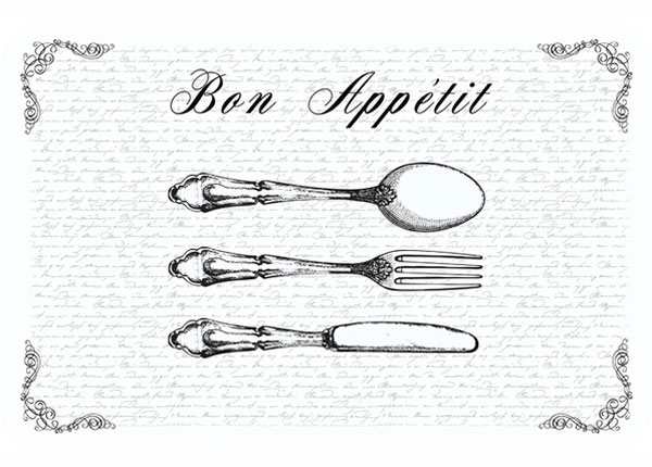 Lauamatt Bon Appetit 4 tk