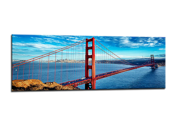 Seinätaulu SAN FRANCISCO GOLDEN GATE 40x120 cm ED-130567