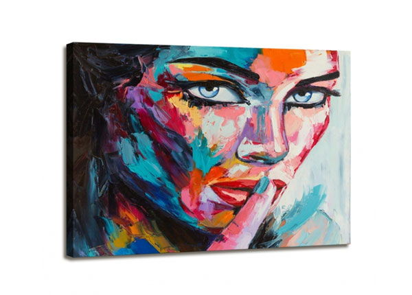 Seinätaulu WOMAN FACE 60x80 cm