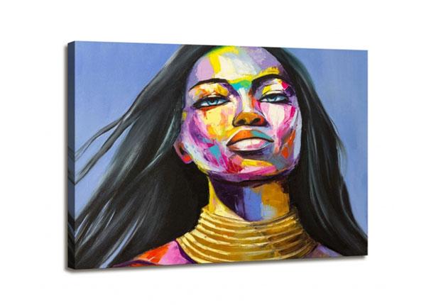 Seinätaulu WOMAN FACE 1, 60x80 cm