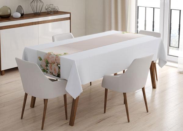 Laudlina Cream Roses 60x160 cm