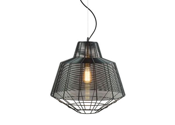 Rippvalgusti Wire Black Ø50 cm A5-130721