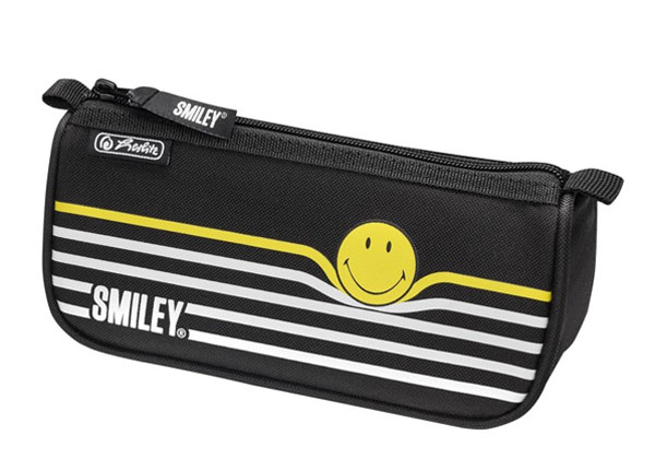Пенал Herlitz Smileyworld Black Stripes BB-130844