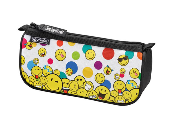 Пенал Herlitz Smileyworld Rainbow Faces BB-130845