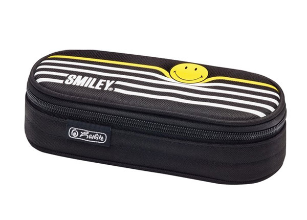 Пенал Herlitz Airgo Smileyworld Black Stripes BB-130872