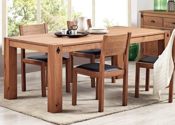 Ruokapöytä EDWARD 200x100 cm MA-130885