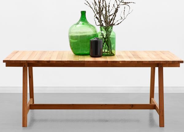 Ruokapöytä WOODEN BEAMS 198x100 cm