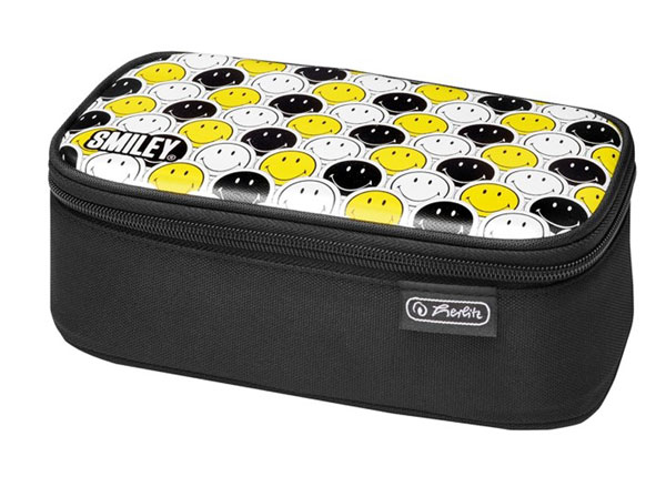 Пенал Herlitz Be Bag Beat Box Smileyworld Black Stripes BB-130960