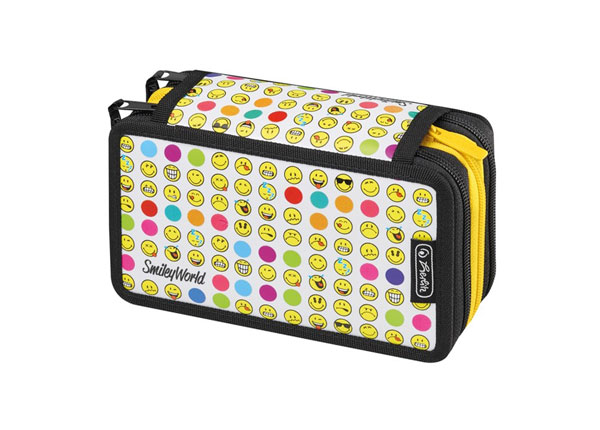 Täidetud pinal Herlitz Smileyworld Rainbow Faces BB-130976
