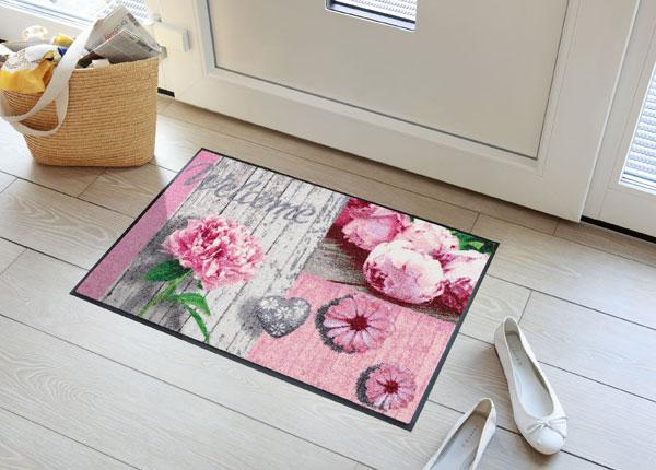 Ovimatto ROMANTIC WOOD PATCH ROSE 50x75 cm A5-131022