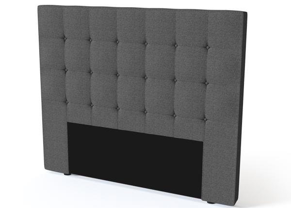 SLEEPWELL sängynpääty ARATORP BLACK 160 cm