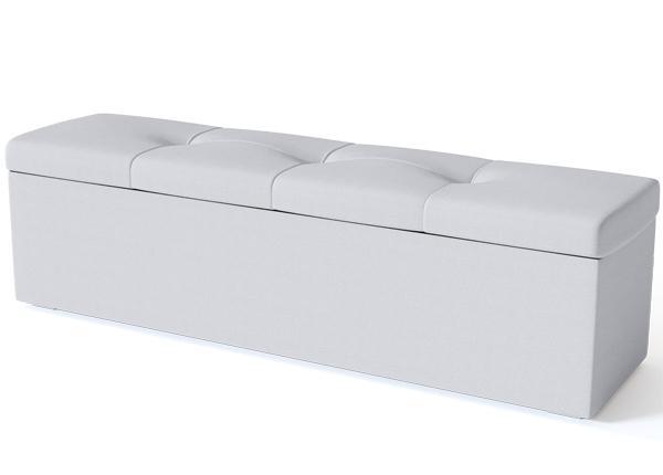 SLEEPWELL vuodevaatelaatikko BLACK ULVASEN 120 cm SW-132170