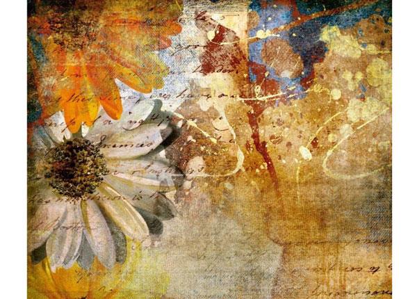 Флизелиновые фотообои Vintage flowers 360x270 cm