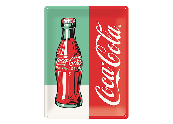 Retro metallposter Coca Cola Pop Art Pudel 30x40 cm SG-132731