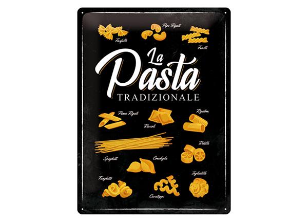 Металлический постер в ретро-стиле La Pasta Tradizionale 30x40 cm SG-132756