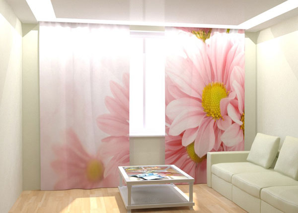 Kuvaverhot SOFT FLOWERS 300x260 cm AÄ-132763