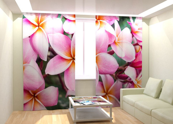 Kuvaverhot TROPICAL FLOWERS 300x260 cm AÄ-132989