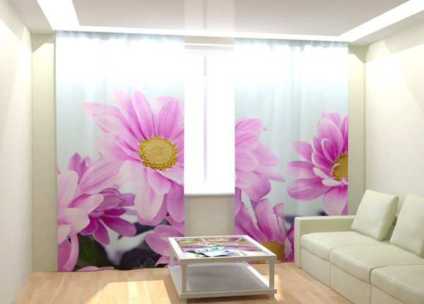 Fotokardinad Purple Flowers 300x260 cm AÄ-132990