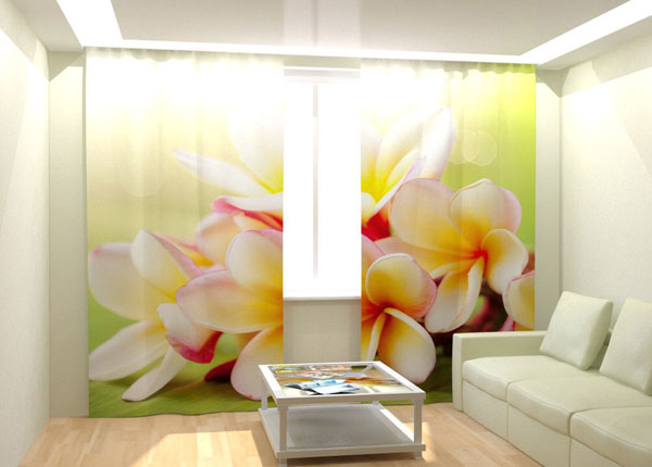 Kuvaverhot TROPICAL BOUQUET 300x260 cm AÄ-132993