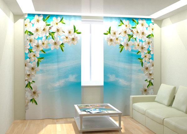 Kuvaverhot SPRING CHERRY FLOWERS 300x260 cm AÄ-133033